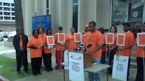 Vigil Calls For Closure Of Juvenile Detention Facility