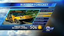 Bus Stop Forecast for Tuesday. October 1st