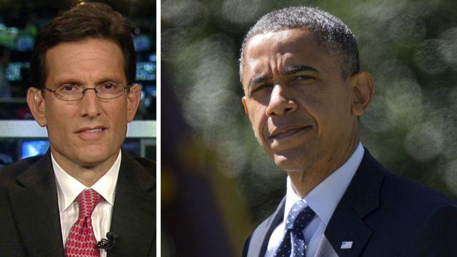 Cantor takes issue with Obama's assessment of Mideast