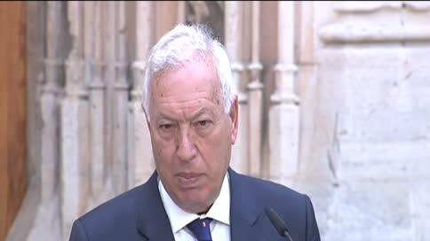 Margallo defiende la honorabilidad de Rajoy