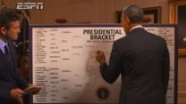 Obama Chooses Michigan State for NCAA Win