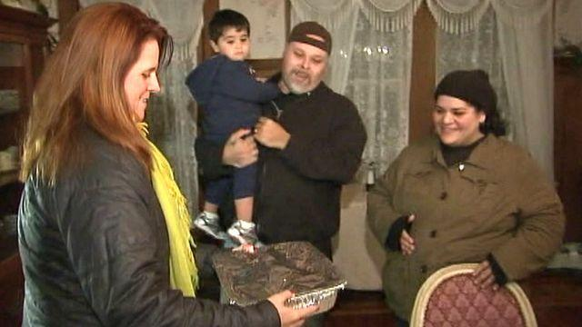 Adopting superstorm Sandy victims