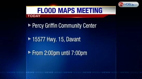 Meeting scheduled to discuss proposed flood maps
