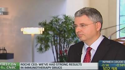 Roche eyes M&A if the 'price is right': CEO