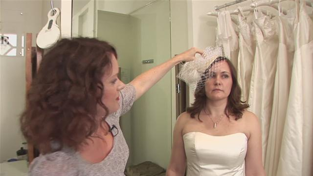 How To Don A Birdcage Veil