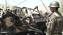 Suicide car bomber attacks NATO convoy in Afghanistan