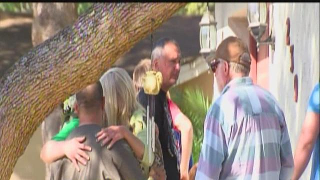 Friends, family gather to remember man swallowed by sinkhole