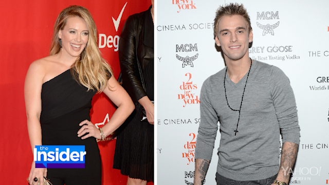 Aaron Carter Attempts to Win Back Childhood Sweetie Hilary Duff