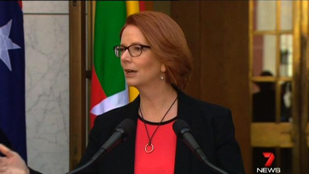Gillard stands firm amid poor poll