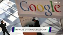 Google's 'Mobilegeddon' shake up