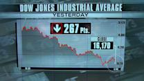 Triple-digit losses for Dow Jones and NASDAQ