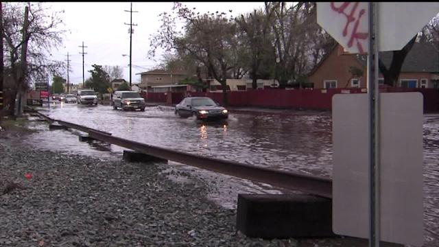 Storms Cause Flooding in Drought-Stricken California