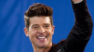 Robin Thicke on ABC's 'Duets' and Beyonce duet