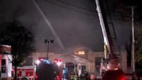 Raw: Chagrin Falls fire