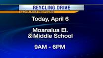 Aloha Aina holds recycling drive at Moanalua Elementary and Middle schools