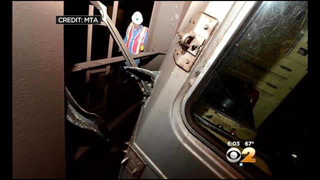 Investigators Seek Answers In Queens Subway Train Derailment