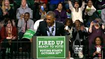 Obama Fires Up Democrats, Urges Early Voting For Quinn