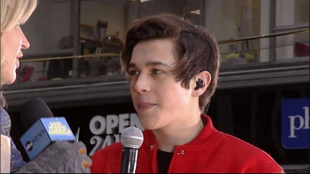Austin Mahone Named MTV's Artist to Watch