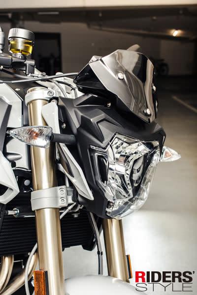玩美極致 帥氣現身 2015 BMW F800R
