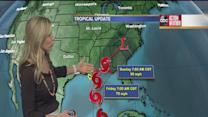 Tropical Storm Karen forms in Gulf of Mexico