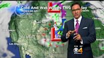 Saturday Forecast: Wet Storm System Spinning In