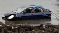 Good Samaritans save 84-year-old after driving into ocean