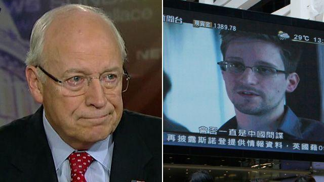 Dick Cheney: Edward Snowden is a traitor