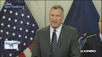 NYC Mayor: Stay indoors, stay off roads