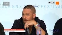 Mad Max: Fury Road star Tom Hardy shuts down sexist question at Cannes