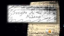 Holmes Notebook Page Title: 'Insights Into The Mind Of Madness'