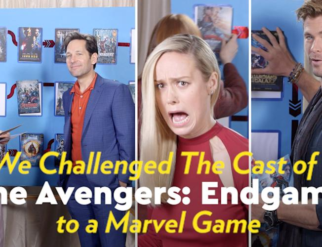 The Avengers: Endgame Cast Tried to Rank All 22 Marvel Movies in Order, and  It Was a Hilarious Disaster