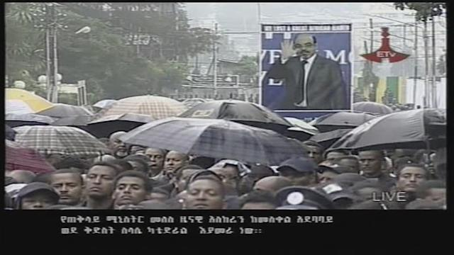 Funeral of long-time Ethiopia leader Meles
