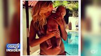 Malin Akerman's Cute Poolside Pic With Son Sebastian