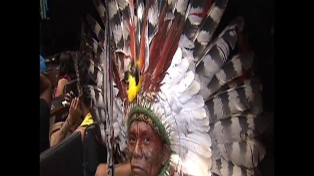 Hundreds of Tribes-people Occupy Brazil Congress