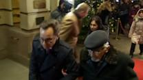 Khodorkovsky's parents arrive at Berlin hotel to meet freed son