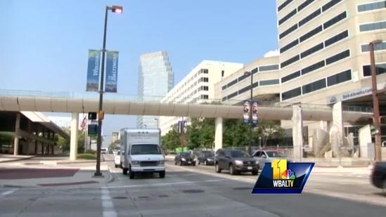 Baltimore knocks down another skywalk