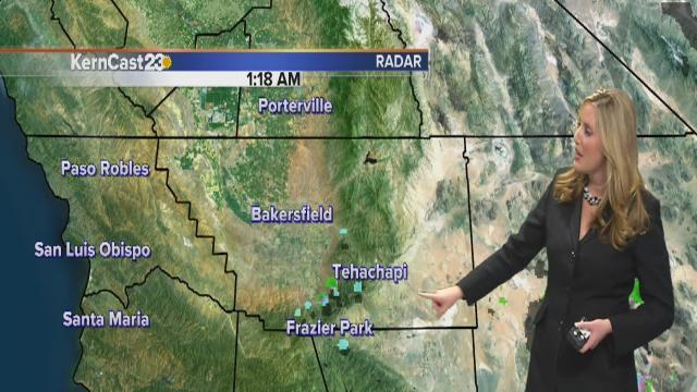 Monday forecast: clearing skies & foggy mornings