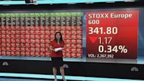 Europe shares open lower; Russia sanctions in focus