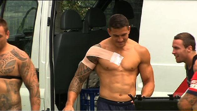 Sonny Bill to start on the bench