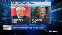 Sanders leads poll into NH primary