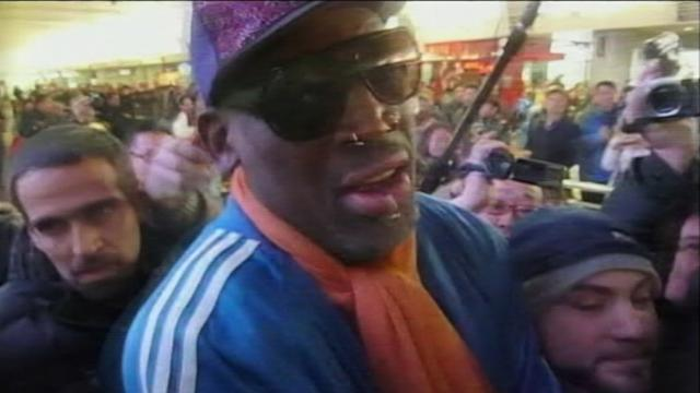 Dennis Rodman 'Sorry' For Not Helping U.S. Missionary