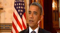 Obama: 'Huge contrast' between campaigns