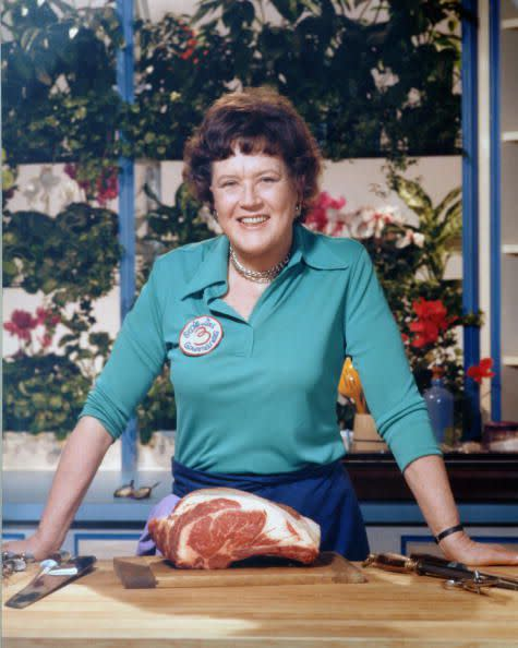 Julia Child開啟了美國人對法式美食的興趣。
