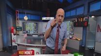 Cramer's silver lining for this volatile market