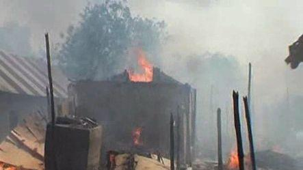 Fire turned 300 sheds into ashes in WB