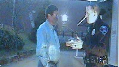 Stuart Irby Takes Field Sobriety Test (Part 1)
