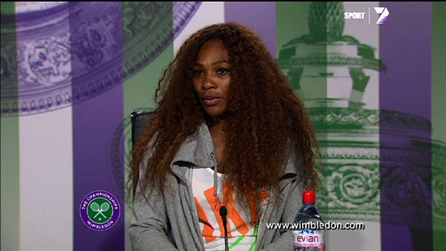Post Match Interview: Serena Williams