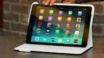 Logitech Fabricskin Keyboard Folio for iPad Air a pricey way to add a spill-resistant keyboard