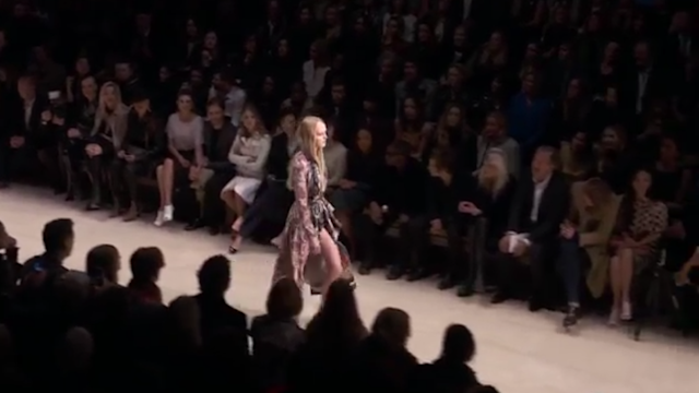 The Bloomsbury Girls Highlights from the Burberry Womenswe