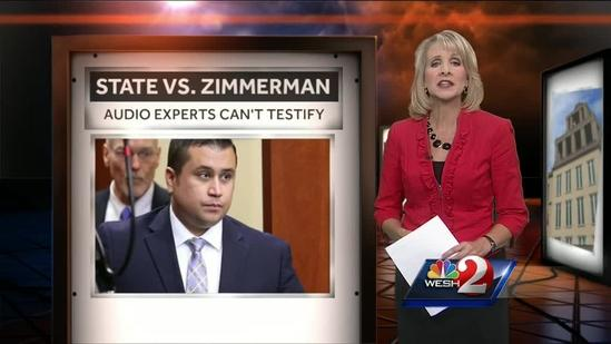 Decision reached on George Zimmerman case voice expert testimony